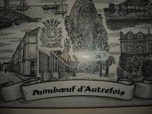 Cadre Bois Massif de Paimboeuf Autrefois
