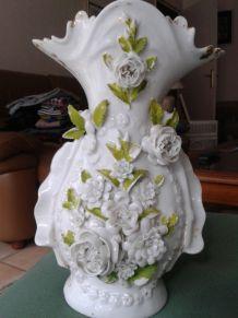 Paire vases vintage