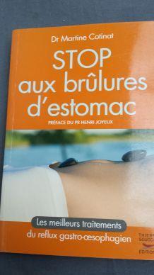 Livre Stop aux brulures d'estomac