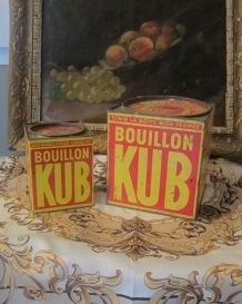grandes boites kub or vintage