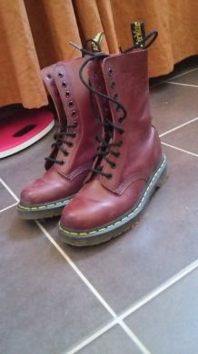 Doc martens grenat taille 37