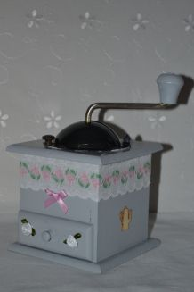 """MOULIN A CAFE RELOOKE """"SHABBY CHIC"""""""