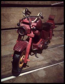 Figurine en bois « Biker »