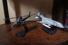 helicoptère et avion