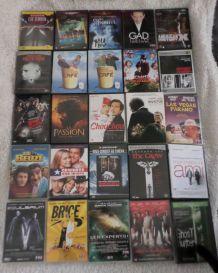 Lot de 25 DVD divers