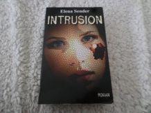 Livre Intrusion de Elene Sender