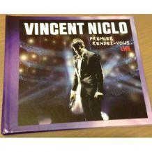Vincent NICLO CD/DVD/LIVRE collector numéroté NEUF