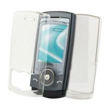 Housse Etui Coque Crystal Transparente Rigide De Protection Pour Samsung U600