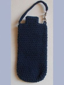 Etui Portable Bleu Marine- Miss Terre