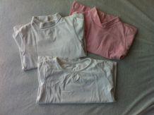 lot 3 t-shirts ML