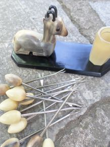 Nécessaire à escargots vintage en excellent état