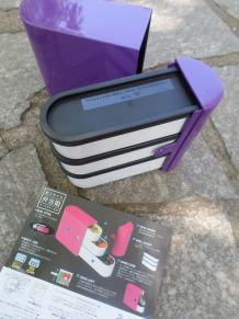 Lunchbox neuve, 3 étages - vendue avec boîte d'origine
