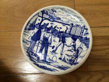 assiette petit format porcelaine