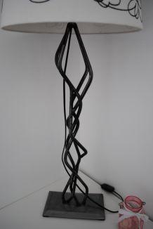 lampe fer forgé artisan d'art