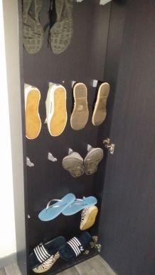 Range chaussures avec miroir