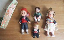 poupées espagnols années 80