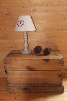 Caisson bois vintage