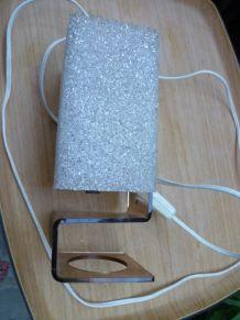 lampe à poser style scandinave en granité