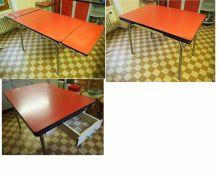 Meubles cuisine formica chaises, tables, chariot, meubles de rangement