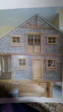 Jolie maison miniature rustique