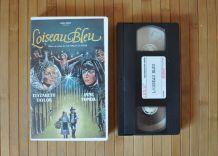 Cassette vidéo VHS L'Oiseau Bleu avec Elizabeth Taylor et Jane Fonda