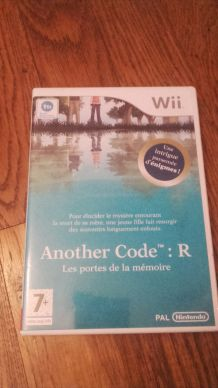 Jeu Wii: Another Code.