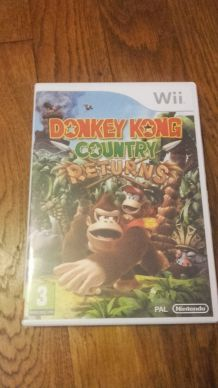 Jeu Wii: Donkey Kong Returns