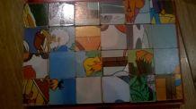 boite de cubes vintage OUM LE DAUPHIN ORTF