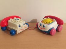 Telephone Fisher price vintage
