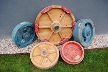 Formes en bois de fonderie Vintage