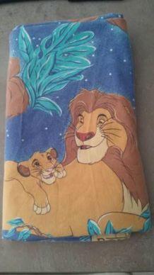 Drap plat le roi lion