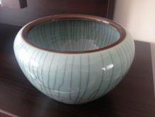 2 vases porcelaine de Chine craquelée