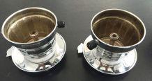 Filtre à café SFAMOKA chrome et bakélite 50