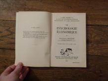 La Psychologie Economique - Que Sais Je? N° 1124- Pierre Louis Reynaud- 1966