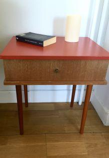 Chevet/table d'appoint vintage 70