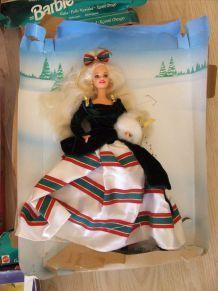 Poupée Barbie collection de noël