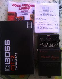 Pédale d'effet BOSS Metal Zone MT-2