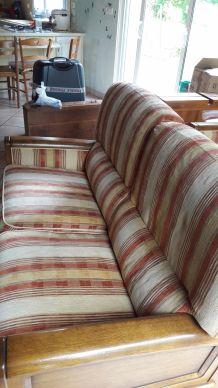 Canapé deux fauteuils