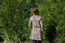 Veste leopard vintage