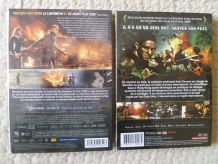 lot  de  2 DVD  , action aventure