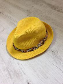 Chapeau style panama