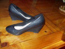 Chaussures talons compensées