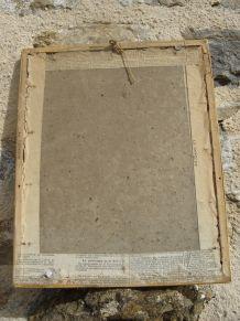 cadre vintage décoratif
