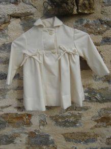 petit manteau retro 1-2 ans ancien