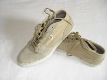 baskets beige DC SHOES