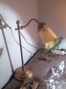 lampe pate de verre.
