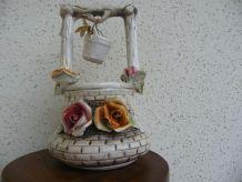 petit puits en porcelaine d'Italie
