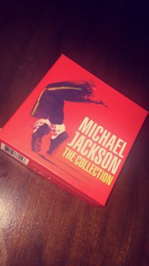 "coffret collector de 5 CD ""the collection"" de Michael Jackson"