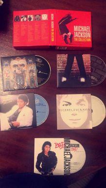 """coffret collector de 5 CD """"the collection"""" de Michael Jackson"""