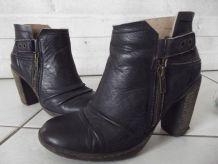 chaussures bottines femme palladium 37